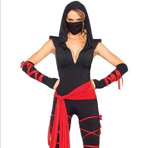 Ninja Costume, Leg Avenue, Med, 4 pc